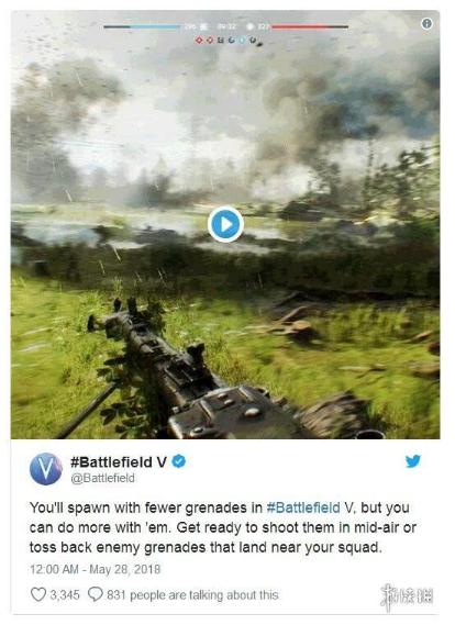 《战地5》公布更多游戏情报:动作系统将会大升级!